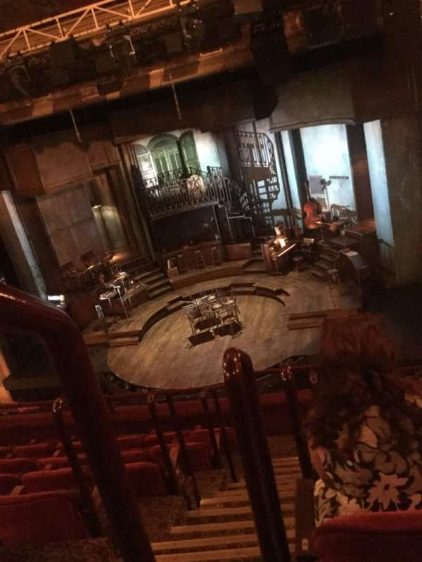 Walter Kerr Theatre, secção: Mezzanine R, fila: G, lugar: 2