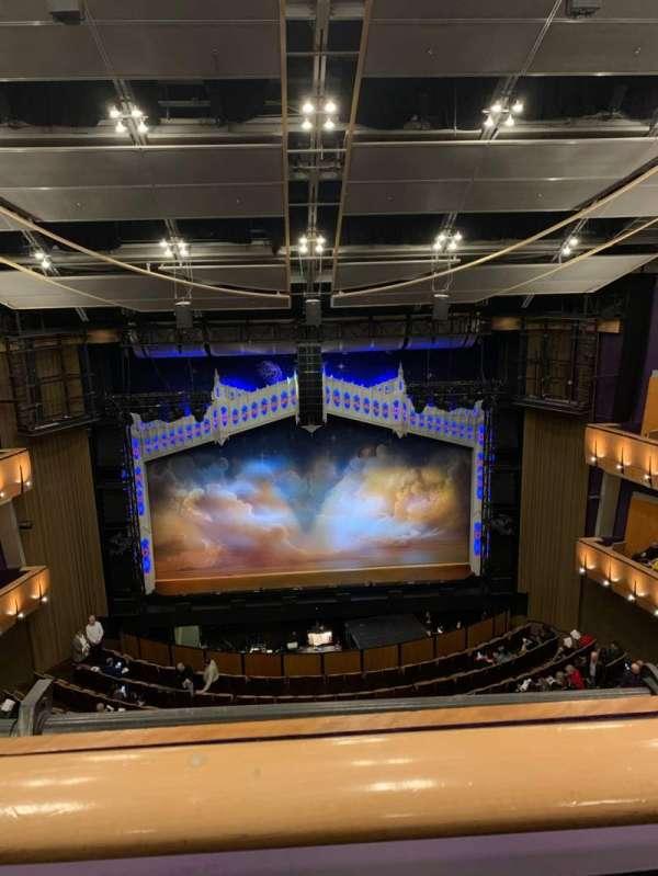 Ahmanson Theatre, secção: Balcony, fila: A, lugar: 23