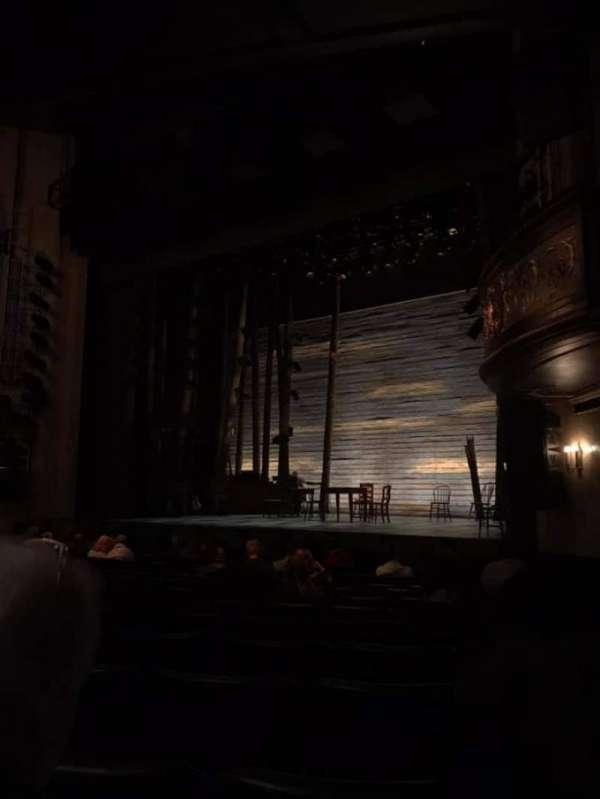 Comedy Theatre, secção: Stalls, fila: L, lugar: 38