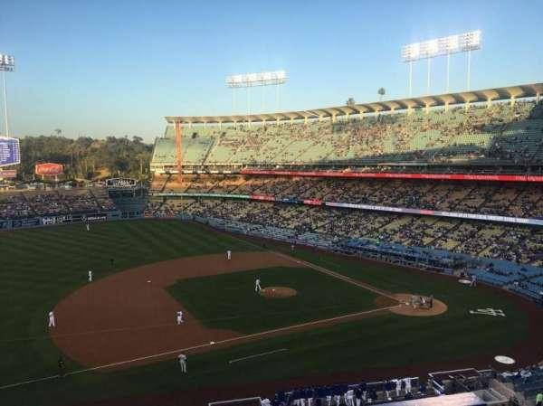Dodger Stadium, secção: 23RS, fila: B, lugar: 11