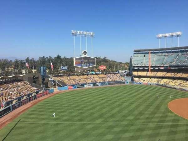 Dodger Stadium, secção: 39RS, fila: B, lugar: 3