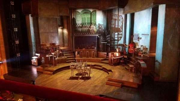 Walter Kerr Theatre, secção: Mezzanine R, fila: A, lugar: 6