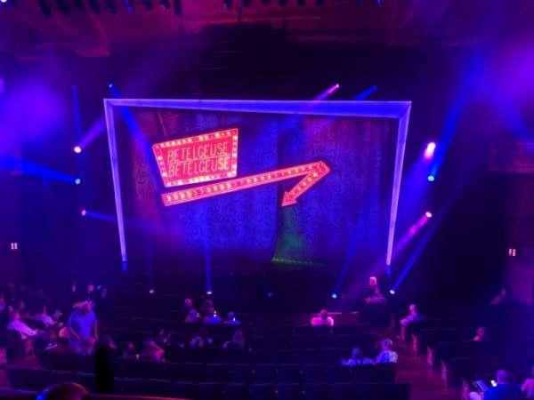 Winter Garden Theatre, secção: Mezzanine RC, fila: A, lugar: 120