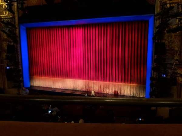 Longacre Theatre, secção: Mezzanine Right, fila: A, lugar: 1