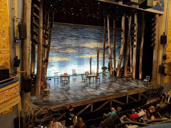 Gerald Schoenfeld Theatre, secção: Mezzanine L, fila: A, lugar: 9