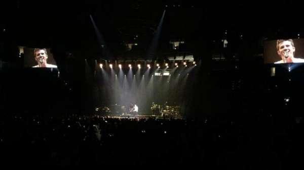 Oracle Arena, secção: 2, fila: A5, lugar: 10