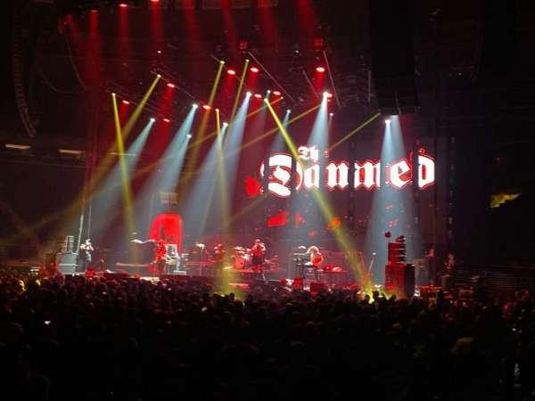 Madison Square Garden, secção: 106, fila: 2 , lugar: 14