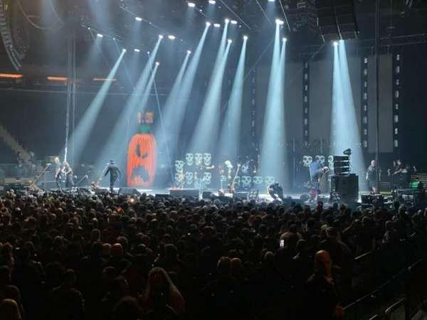 Madison Square Garden, secção: 106, fila: 2, lugar: 14