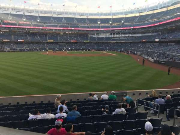 Yankee Stadium, secção: 235, fila: 2, lugar: 1