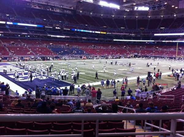 The Dome at America's Center, secção: 149, fila: U, lugar: 2