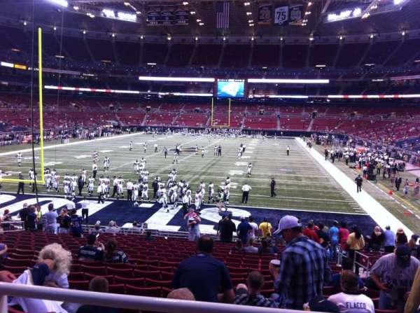 The Dome at America's Center, secção: 153, fila: U, lugar: 2