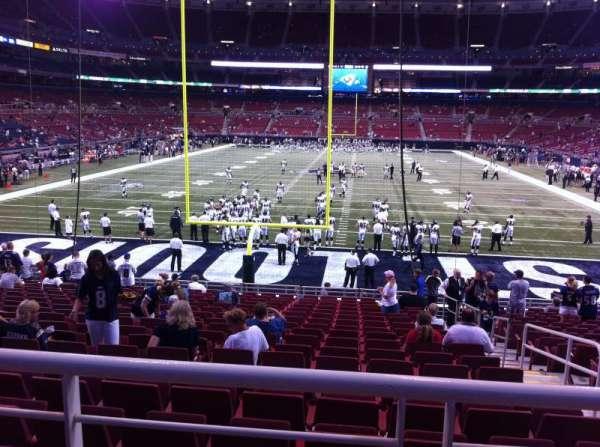 The Dome at America's Center, secção: 154, fila: U, lugar: 2