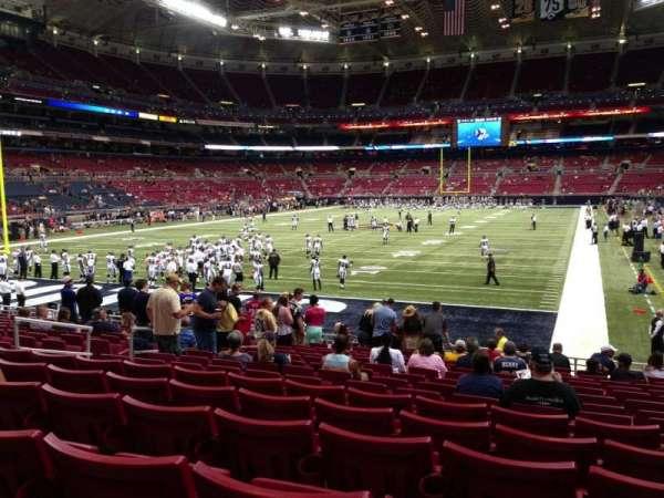 The Dome at America's Center, secção: 152, fila: Q, lugar: 11