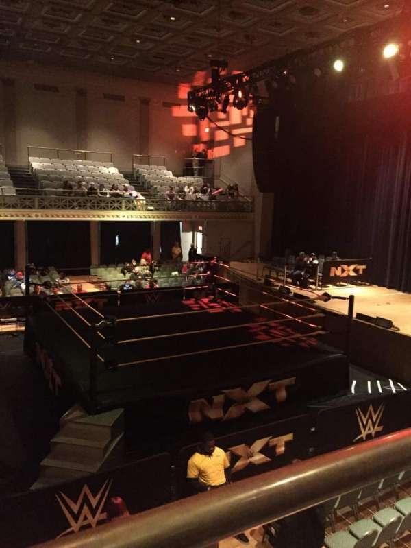 War Memorial Auditorium, secção: Tier 12 Front, fila: 1, lugar: A6