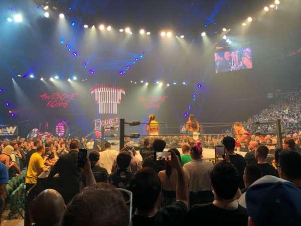 MGM Grand Garden Arena, secção: C, fila: G