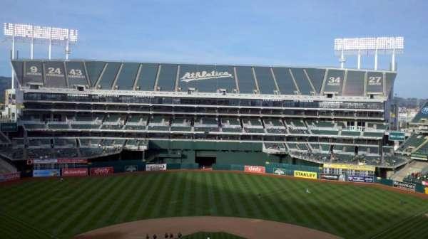 Oakland Coliseum, secção: 317
