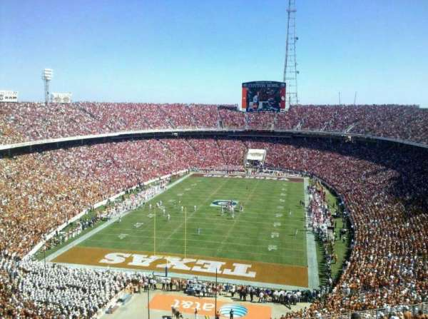 Cotton Bowl, secção: 116