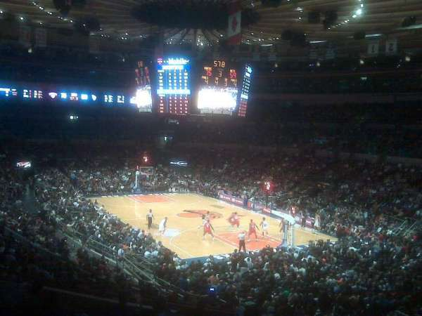 Madison Square Garden, secção: 120
