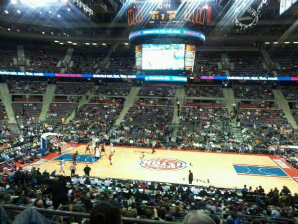 The Palace of Auburn Hills, secção: 113, fila: M, lugar: 14