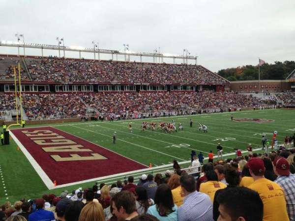 Alumni Stadium, secção: A, fila: 26, lugar: 20