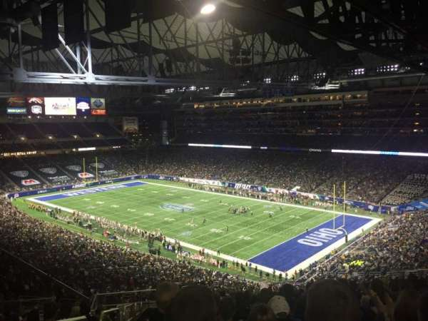 Ford Field, secção: 338, fila: 19, lugar: 2
