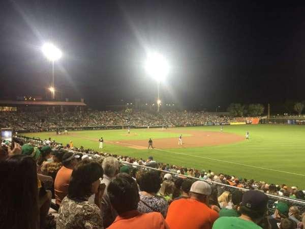 Scottsdale Stadium, secção: Blc B, fila: 12, lugar: 17