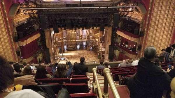 CIBC Theatre, secção: Balcony LC, fila: K, lugar: 401