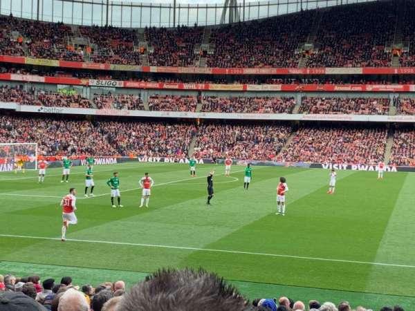 Emirates Stadium, secção: 2, fila: 18, lugar: 36