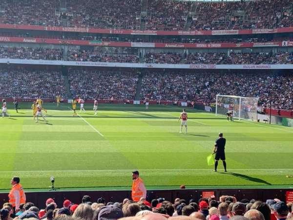 Emirates Stadium, secção: 16, fila: 27, lugar: 499