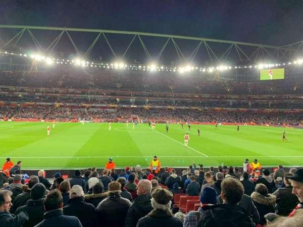 Emirates Stadium, secção: 17, fila: 17, lugar: 528