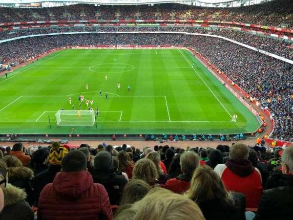 Emirates Stadium, secção: 123, fila: 14, lugar: 880
