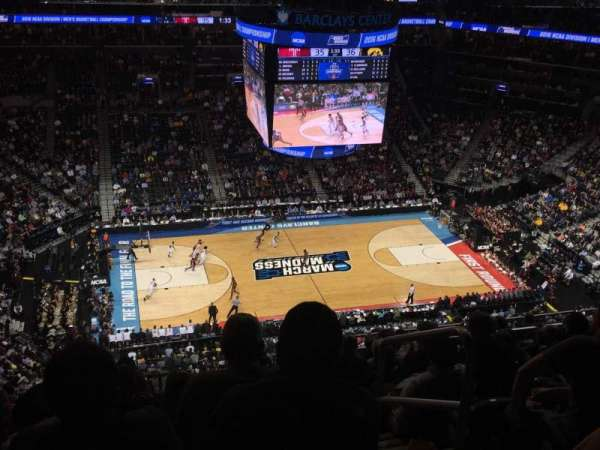 Barclays Center, secção: 210, fila: 15, lugar: 2