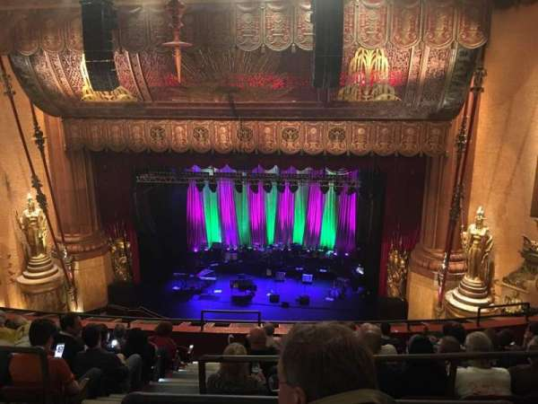 Beacon Theatre, secção: Upper Balcony 2, fila: G, lugar: 4