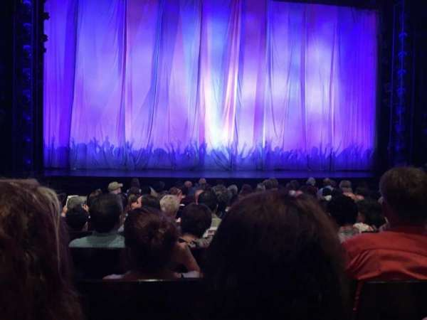 Marquis Theatre, secção: Orchestra C, fila: K, lugar: 106