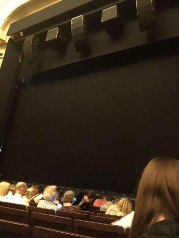 Hudson Theatre, secção: Orchestra, fila: H, lugar: 121