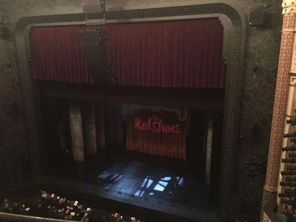 New York City Center, secção: Balcony, fila: A, lugar: 140
