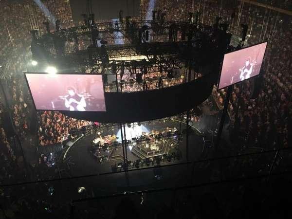 Madison Square Garden, secção: 320, fila: BS3, lugar: 1