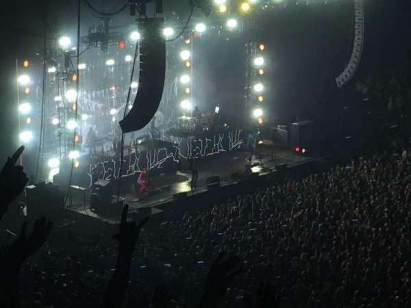 Madison Square Garden, secção: 226, fila: 8, lugar: 1
