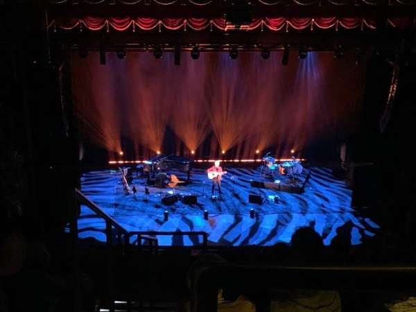 Beacon Theatre, secção: Upper Balcony C, fila: G, lugar: 101
