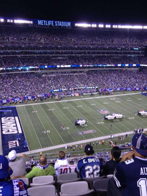 Metlife Stadium, secção: 342, fila: 5