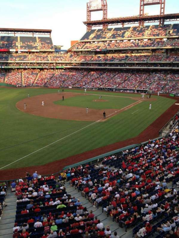 Citizens Bank Park, secção: 235, fila: 1, lugar: 15