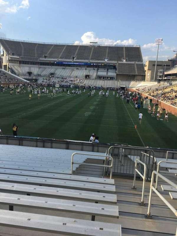 Bobby Dodd Stadium, secção: 133, fila: 22, lugar: 33
