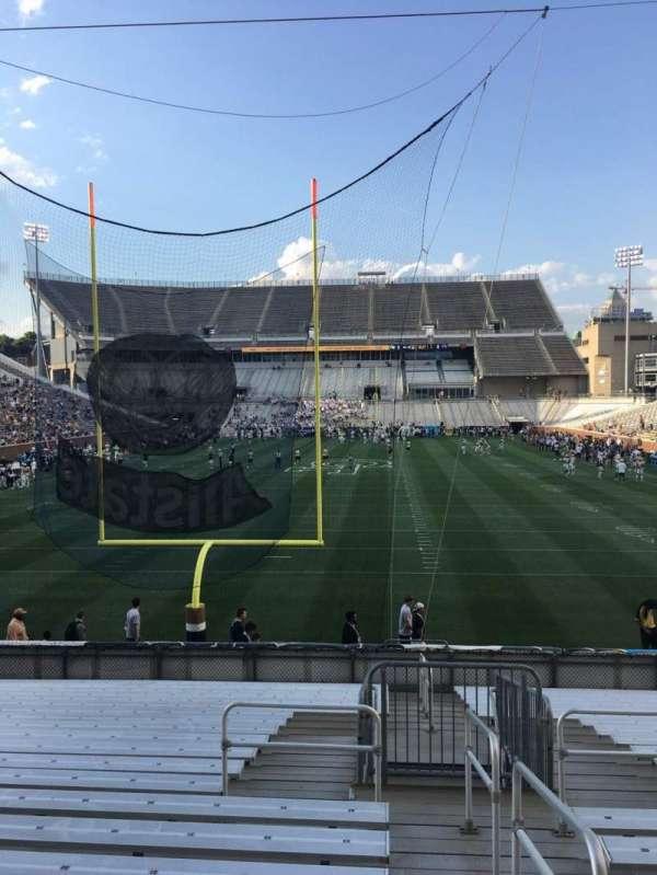 Bobby Dodd Stadium, secção: 134, fila: 22, lugar: 33