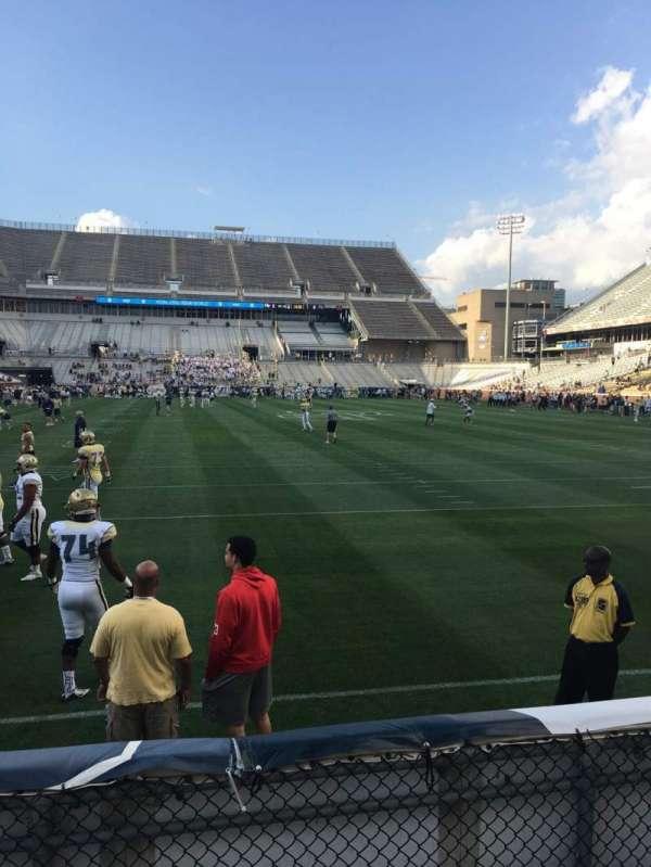 Bobby Dodd Stadium, secção: 135, fila: 4, lugar: 21
