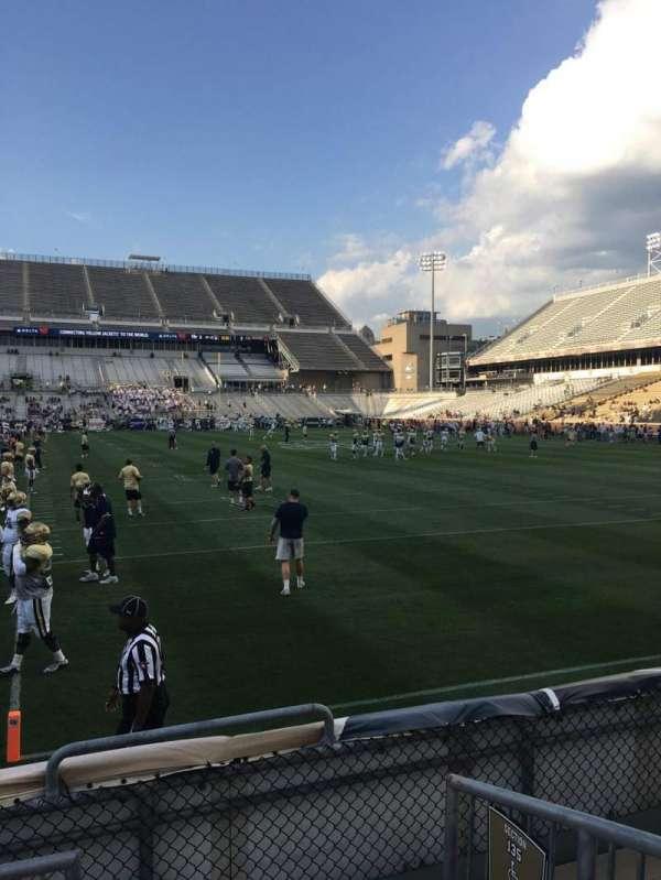 Bobby Dodd Stadium, secção: 136, fila: 4, lugar: 15