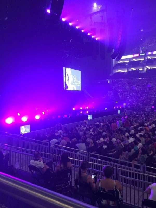 The O2 Arena, secção: 101, fila: H, lugar: 42