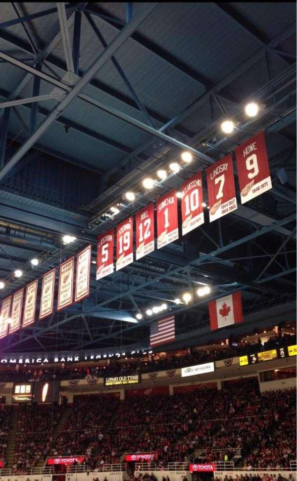 Joe Louis Arena, secção: 220, fila: 6, lugar: 13