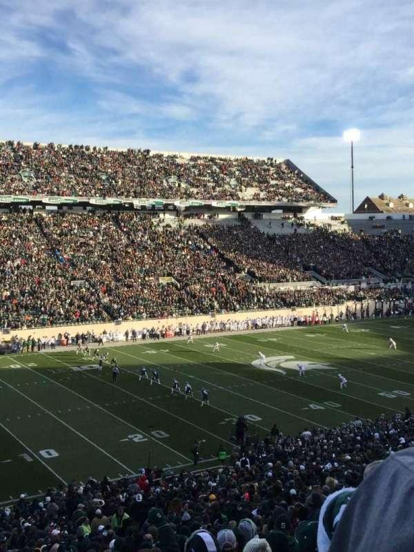Spartan Stadium, secção: 27, fila: 55, lugar: 4