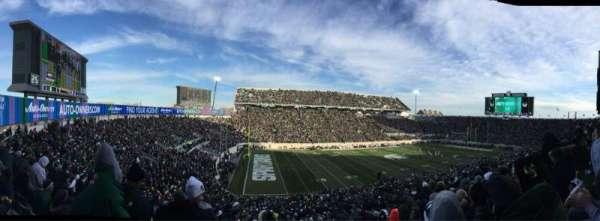 Spartan Stadium, secção: 27, fila: 55, lugar: 3