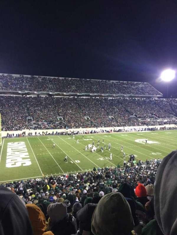 Spartan Stadium, secção: 27, fila: 55, lugar: 2